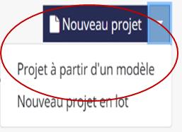 Acte notarié technologique   Trucs et astuces : Création d'un modèle et duplication d'un projet