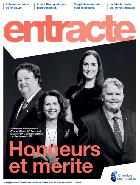"""Couverture du magazine """"Honneurs et mérite"""""""